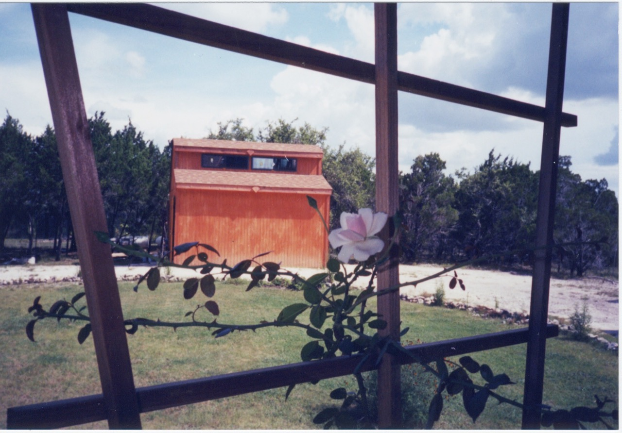 photo of the shop, as built in 2000