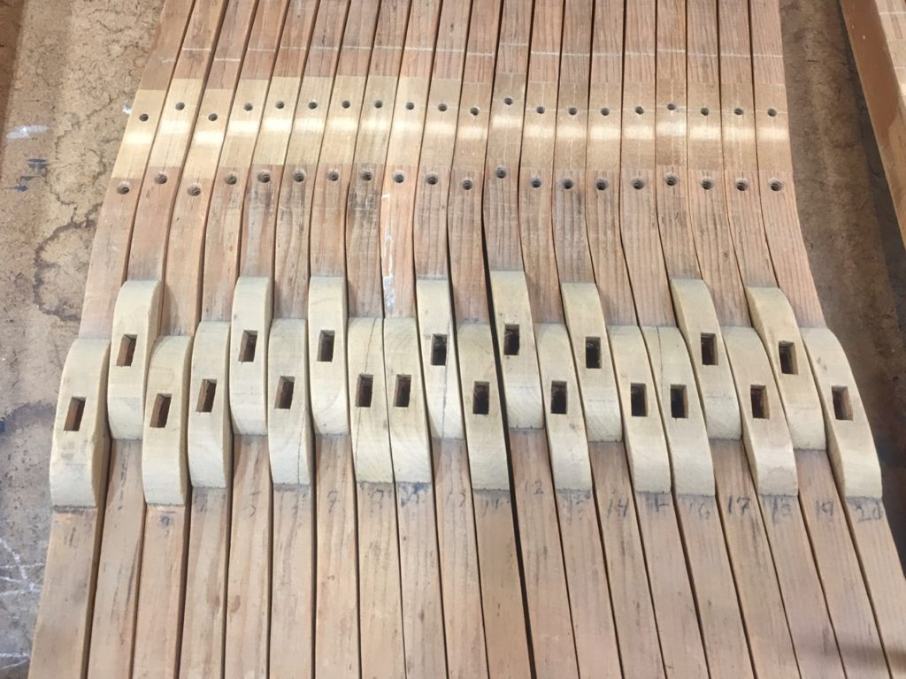 photo of piano keys in the raw