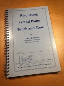 photo of Regulating Grand Piano Touch and Tone book
